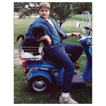 Bad Annie's Card #059 - Sexy Moped
