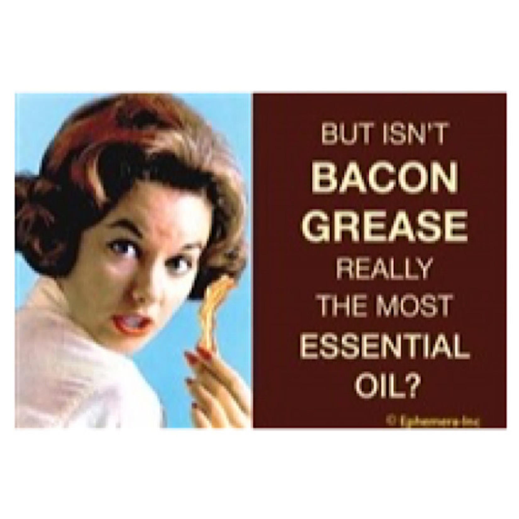 Magnet - But Isn't Bacon Grease Really The Most Essential Oil?