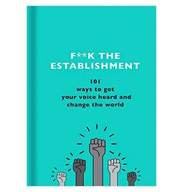 Book Fuck The Establishment