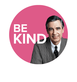 Magnet - Be Kind - Mister Rogers Round