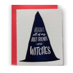 Card - Best Friends Are Witches