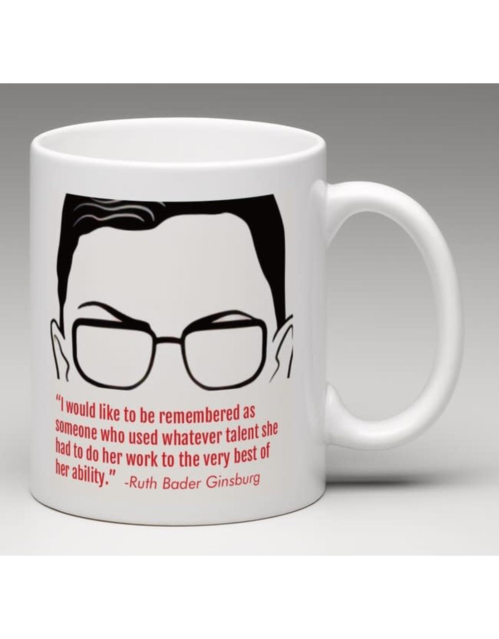 Mug - Dissent Is Patriotic - Ruth Bader Ginsburg