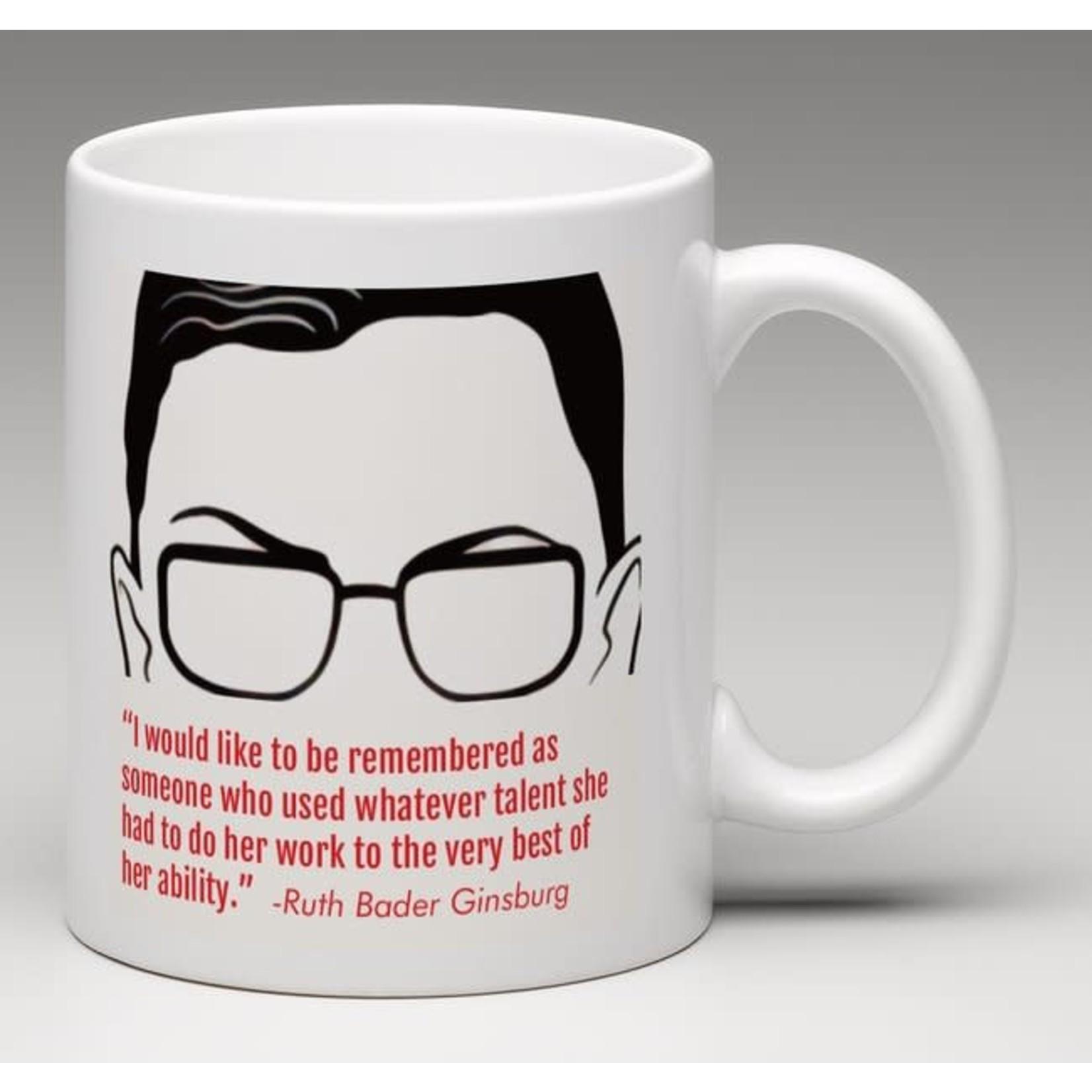 Bad Annie's Mug - Dissent Is Patriotic - Ruth Bader Ginsburg
