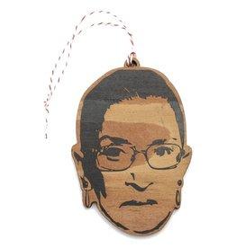 Lettercraft Ornament - Ruth Bader Ginsburg - RBG
