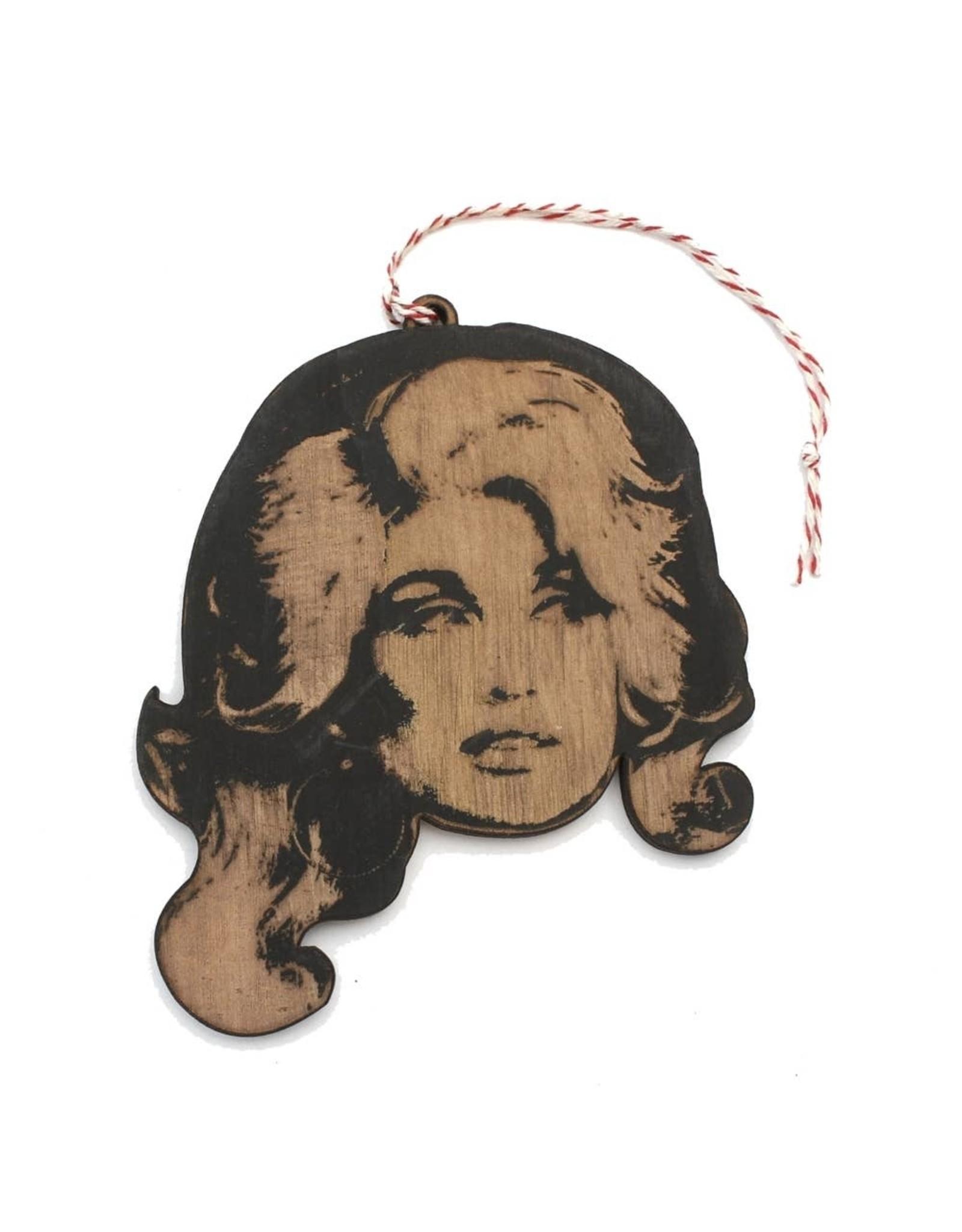 Lettercraft Ornament - Dolly Parton