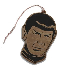 Lettercraft Ornament - Spock