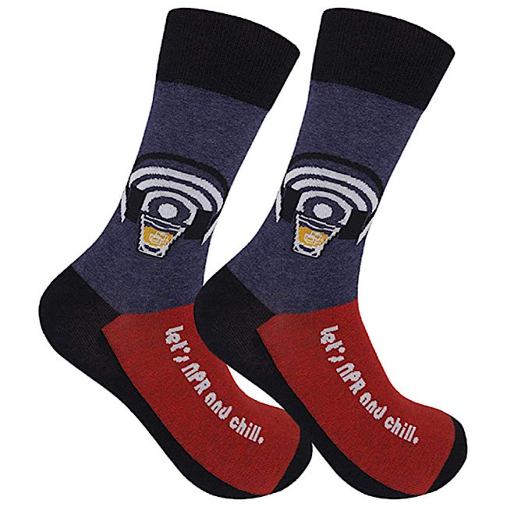 Socks (Unisex) - Lets NPR And Chill