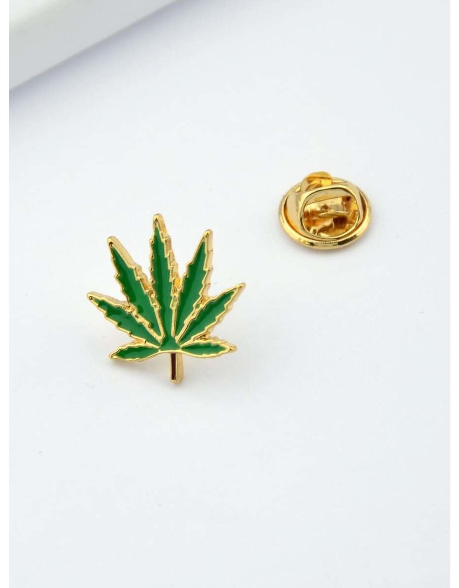 Shein Pin - Pot Leaf - Weed