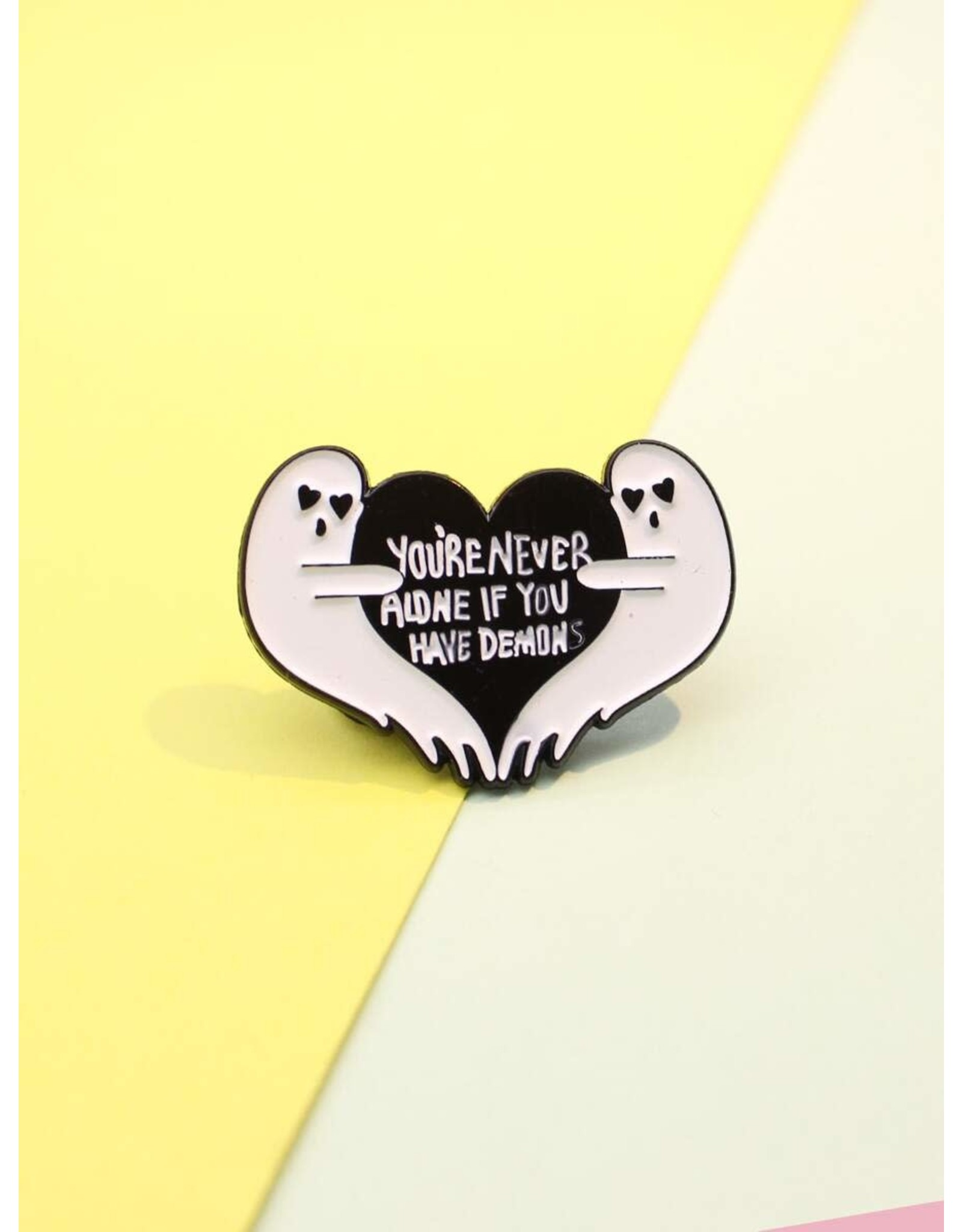 Shein Pin - You're Never Alone If You Have Demons - Ghosts