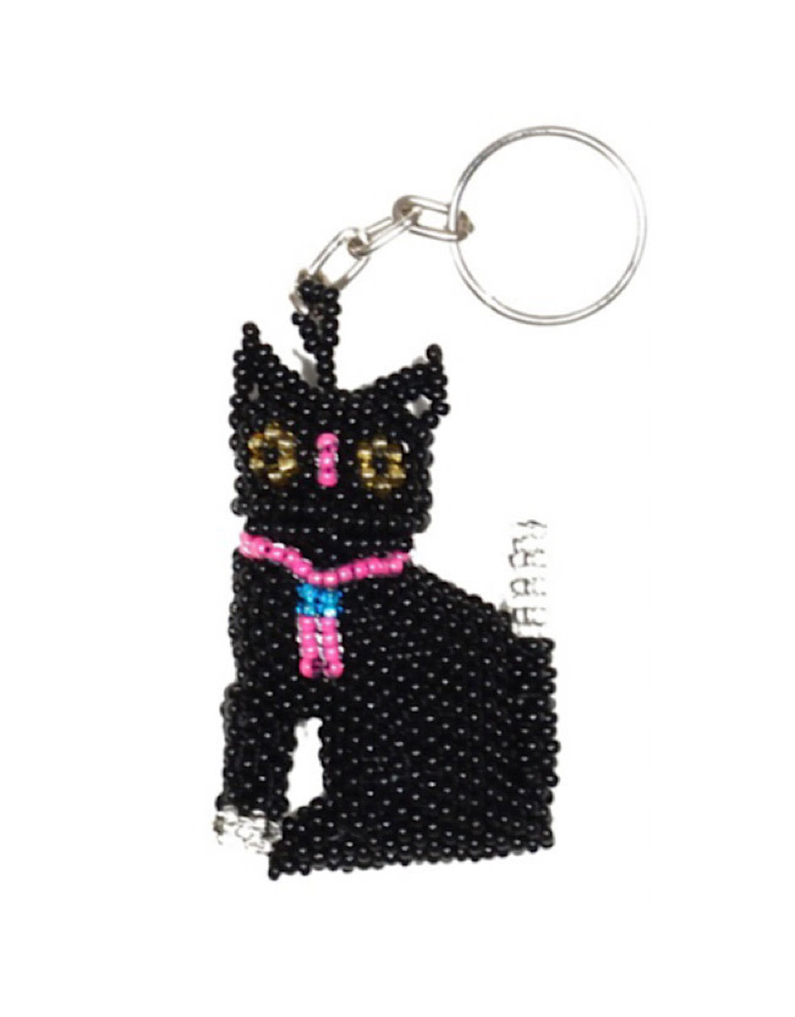 Keychain - Cat (Black)