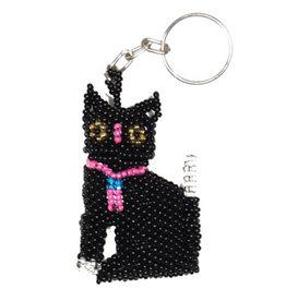Keychain - Cat (Black)