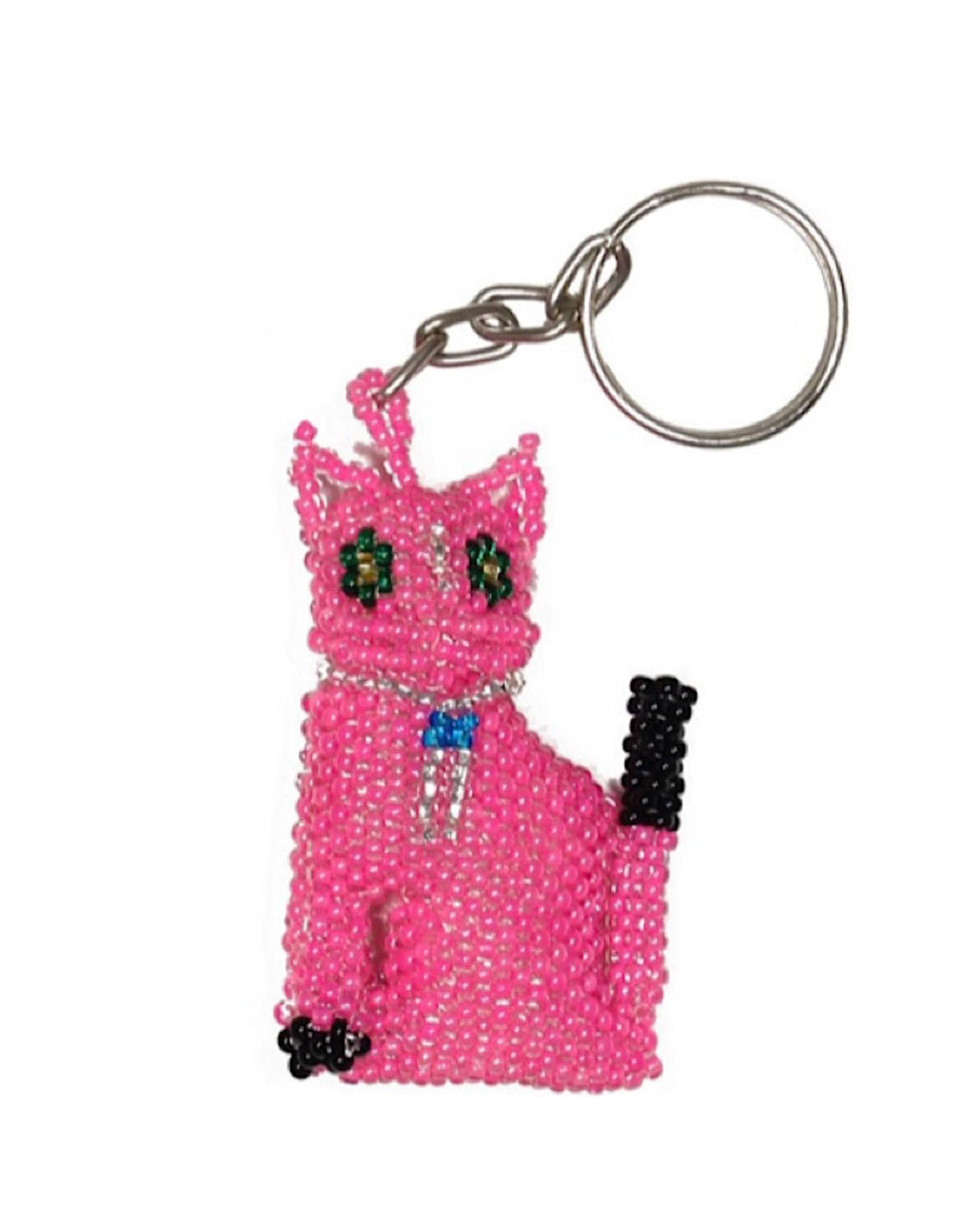 Keychain - Cat (Pink)