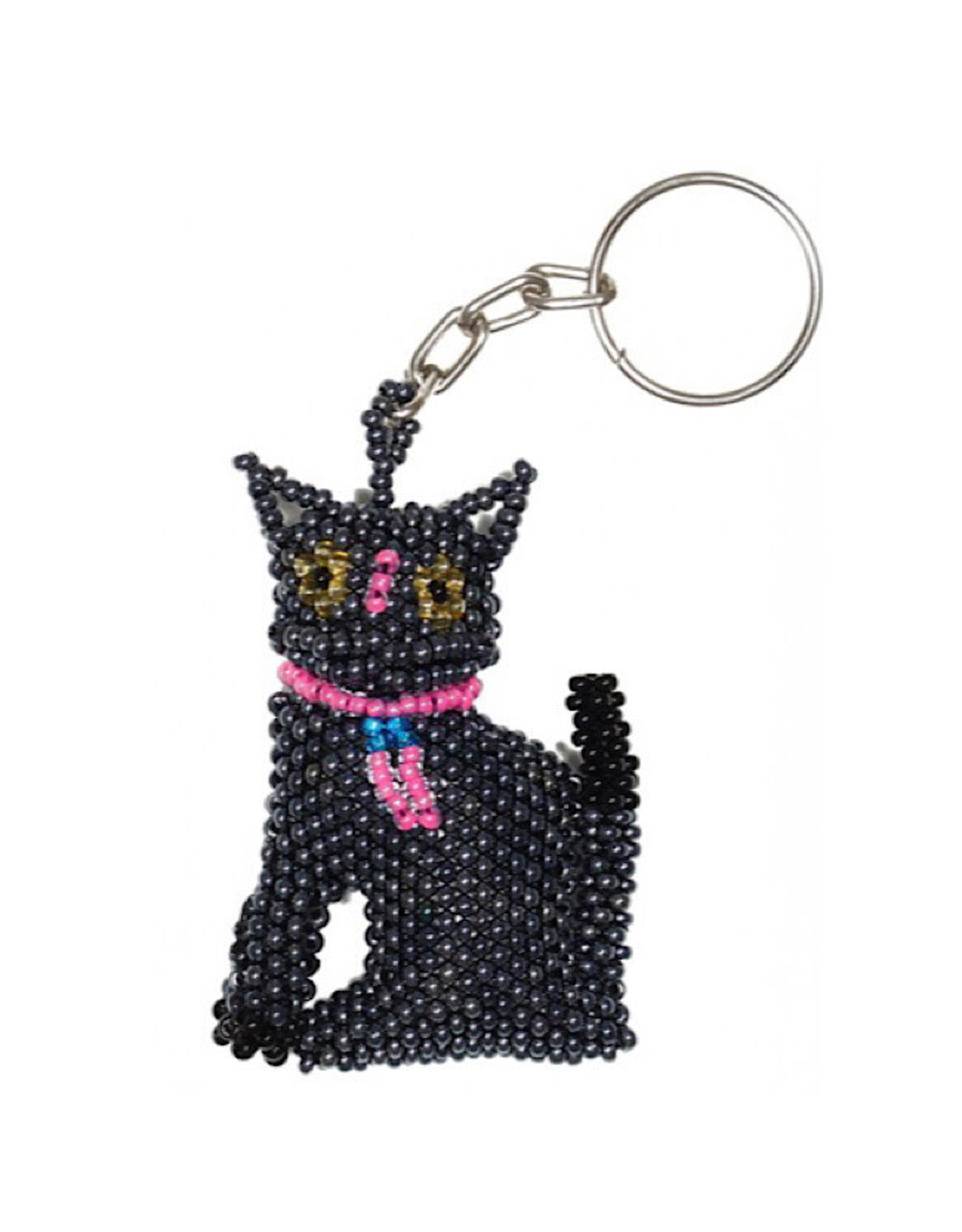 Keychain - Cat (Blue)