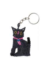 Keychain - Cat (Gray)