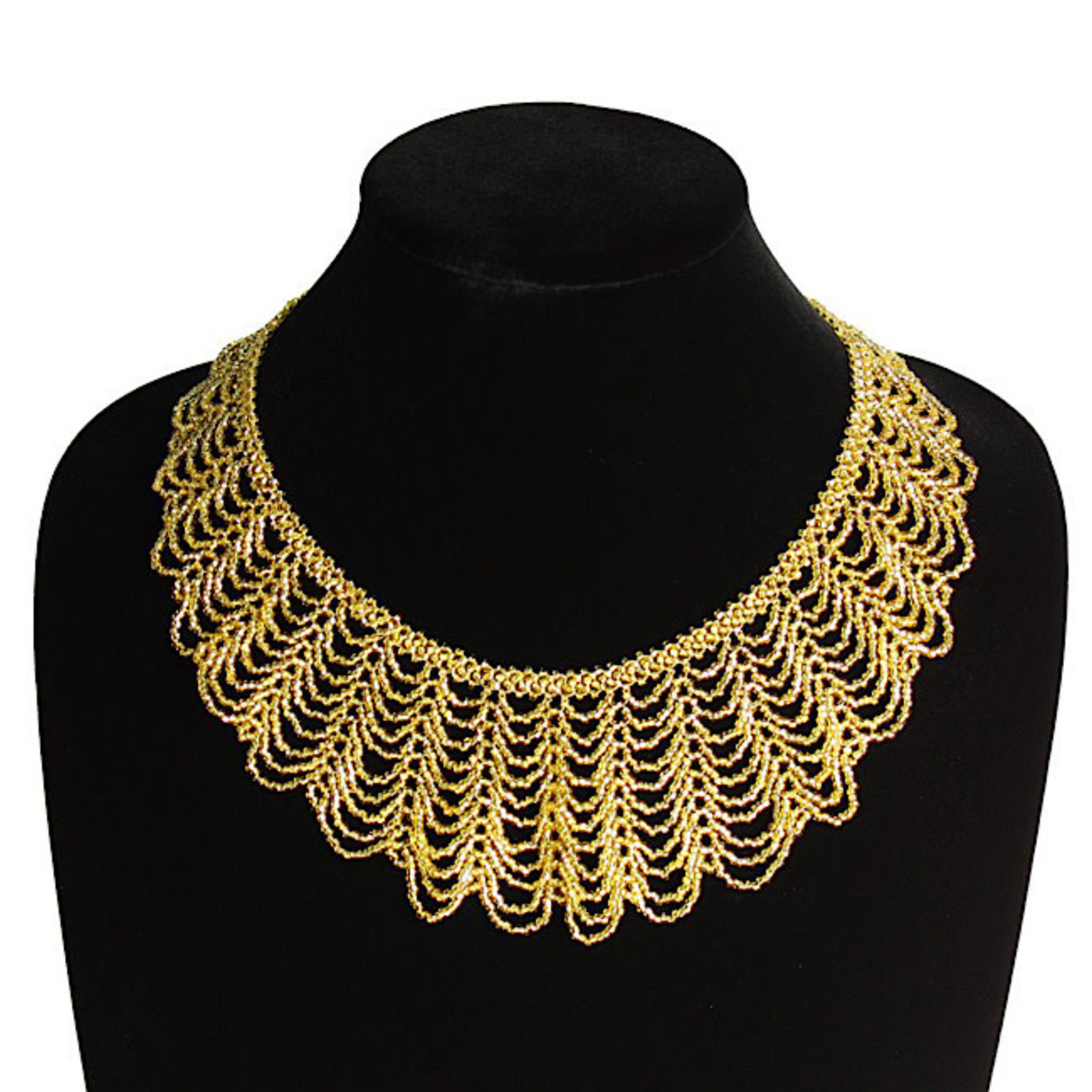 Necklace - Ruth Bader Ginsburg Collar (Gold)