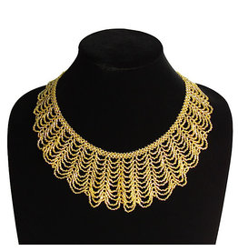 Necklace - Ruth Bader Ginsburg Collar (Gold)