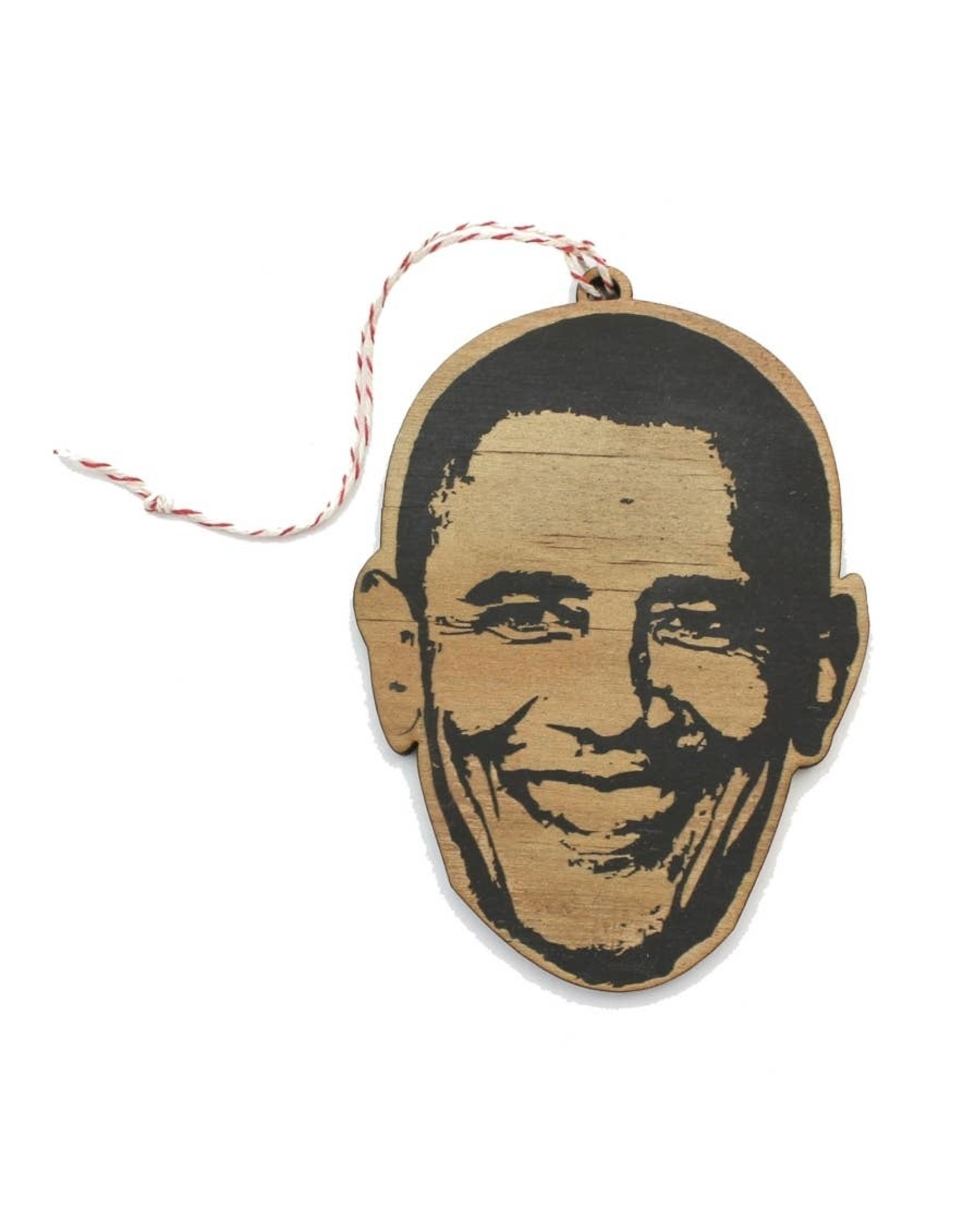 Lettercraft Ornament - Barack Obama
