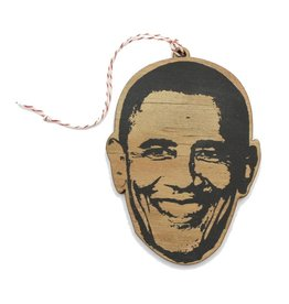 Lettercraft Ornament - Barack Obama