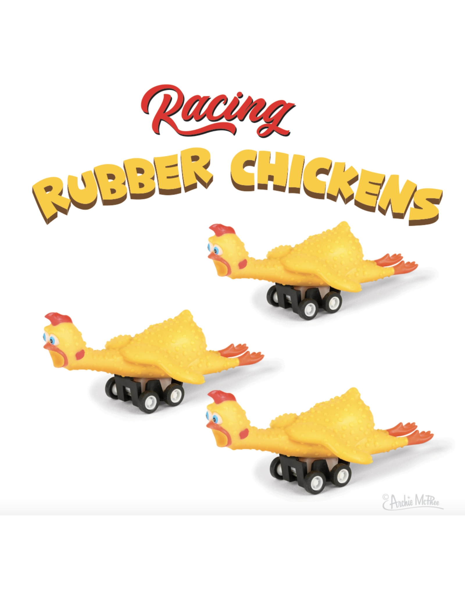 Toy - Rubber Chicken Race Car