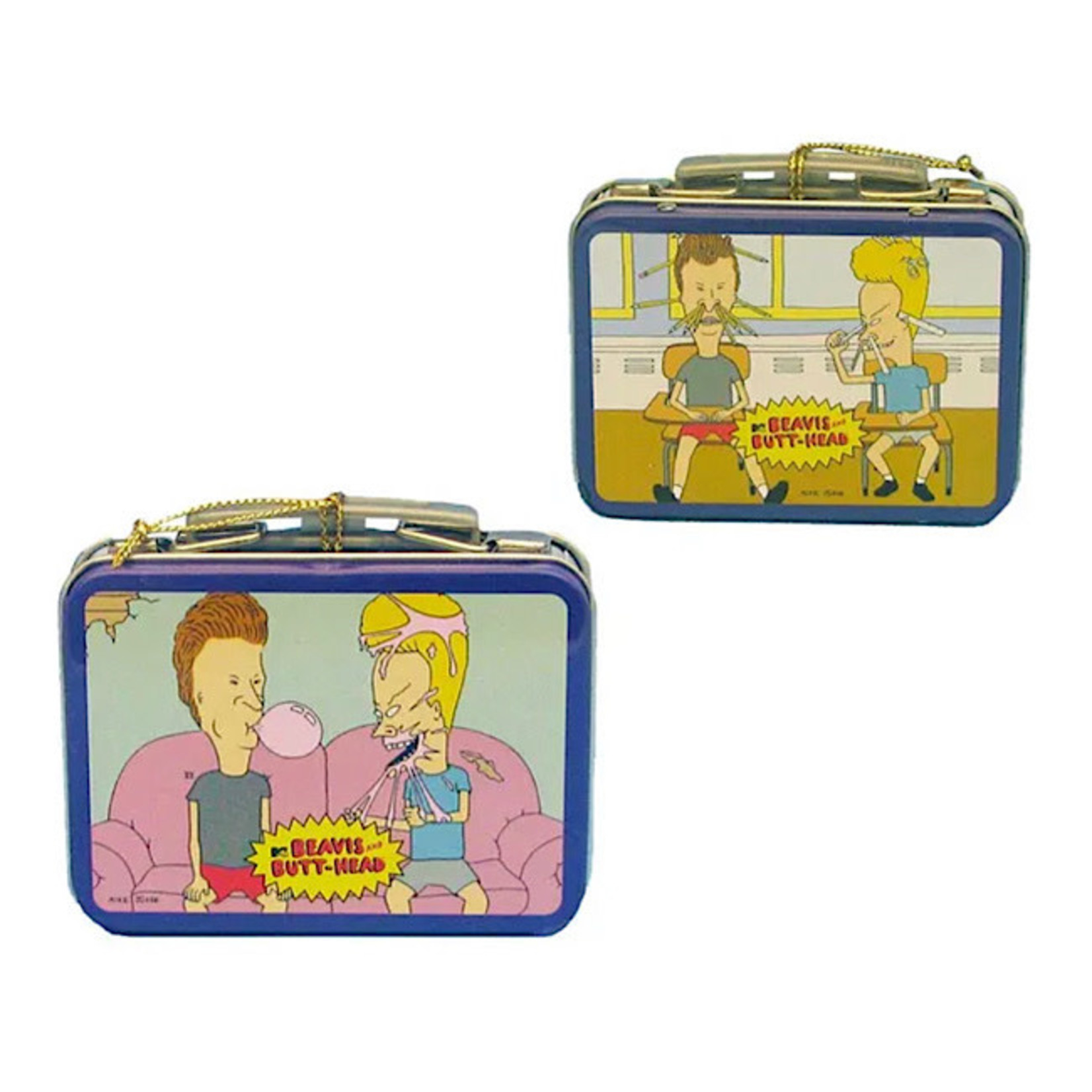 Ornament - Beavis And Butt Head Mini Lunch Box