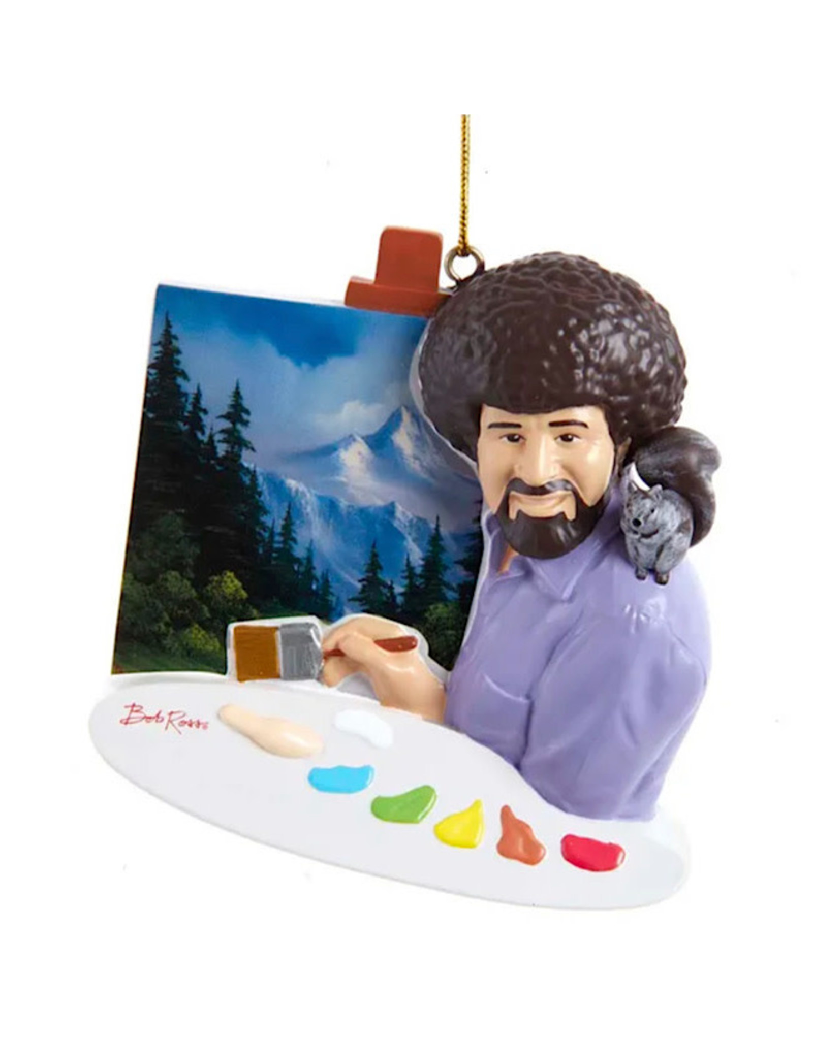 Ornament - Bob Ross Painting