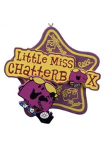 Ornament - Little Miss Chatterbox