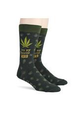 Socks (Mens) - It's My Favorite Herb (Marijuana)