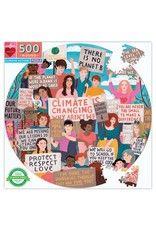 eeboo Puzzle - Climate Action (500pcs