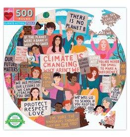 eeboo Puzzle - Climate Action (500pcs