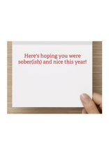 Card (Holiday) (10 Pack) - He Knows When Youre A Dick
