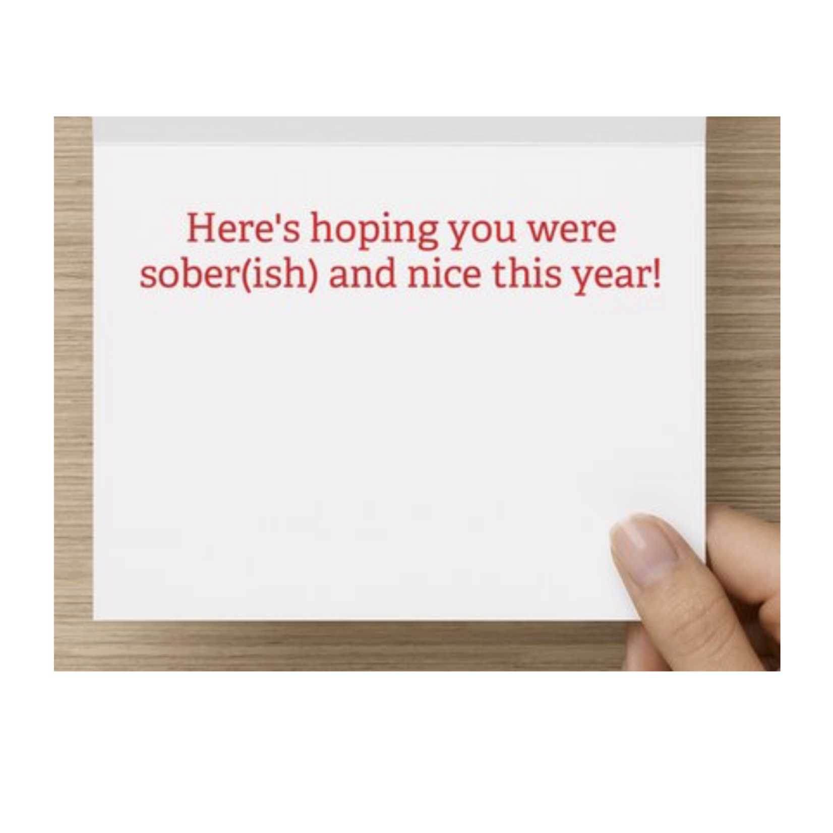 Bad Annie's Card (Holiday) (10 Pack) - He Knows When Youre A Dick