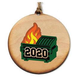 Driftless Studios Ornament - 2020 Dumpster Fire