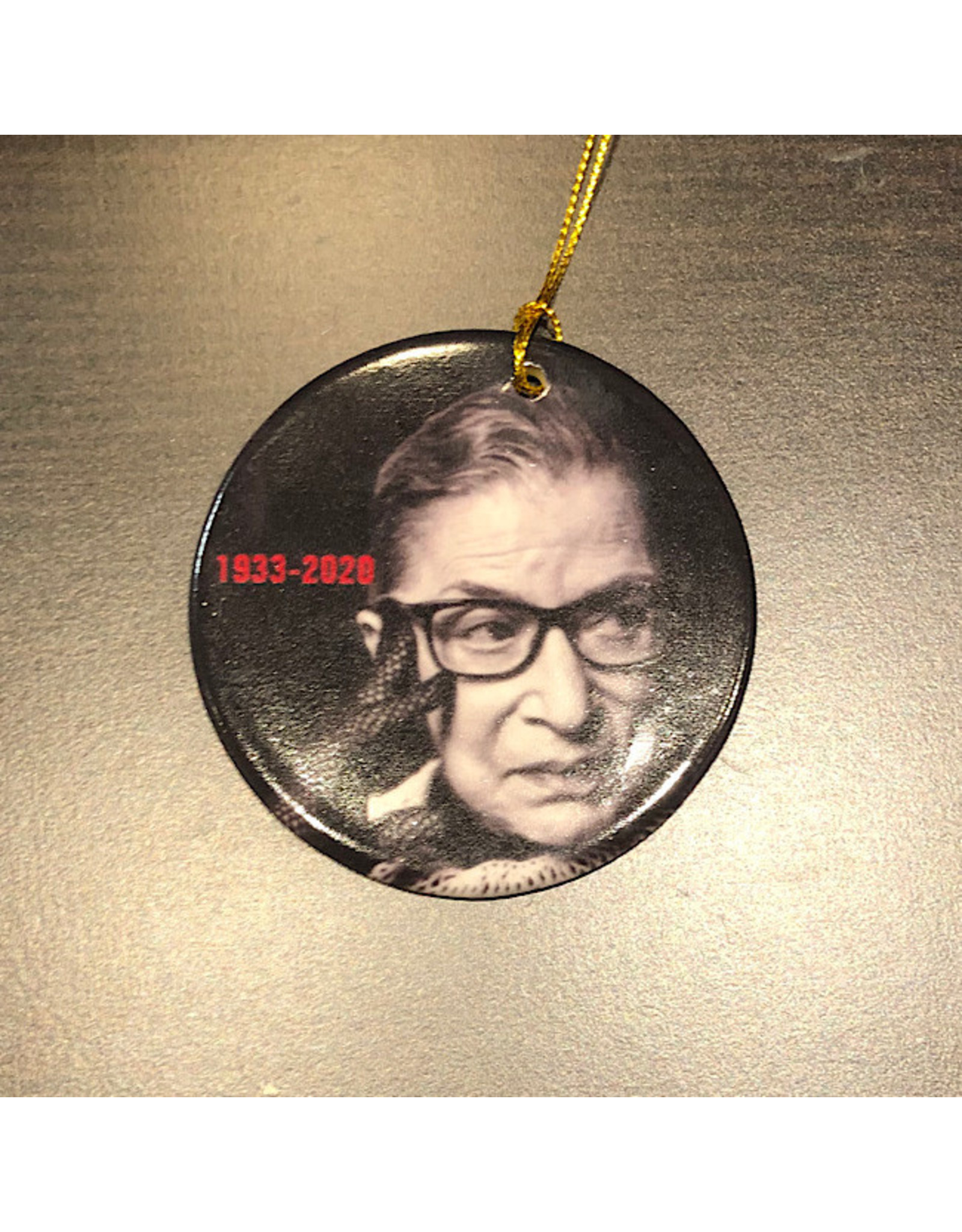 Zazzle Ornament - Ruth Bader Ginsburg (Ceramic)