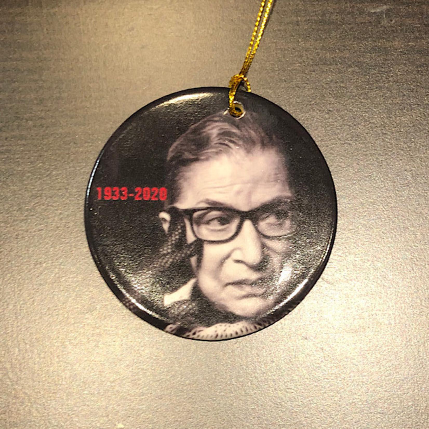 Ornament - Ruth Bader Ginsburg (Ceramic)