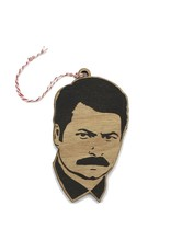 Lettercraft Ornament - Ron Swanson