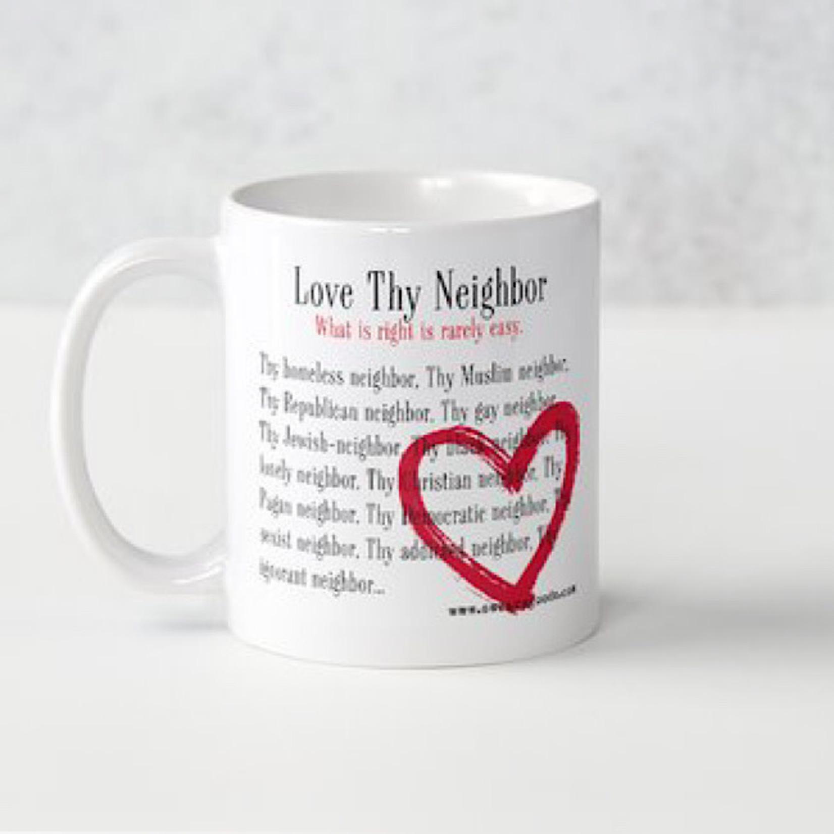 Bad Annie's Mug - Love Thy Neighbor