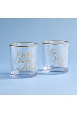 Chronicle Glasses Set - Two Damn Classy Rocks Glasses