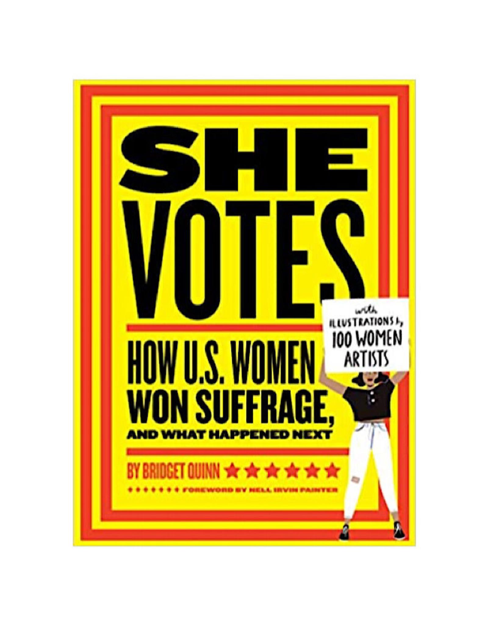 Book - She Votes How U.S. Women Won Suffrage