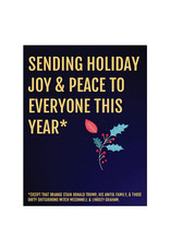 Card (Holiday) - Sending Holiday Joy And Peace To Everyone This Year