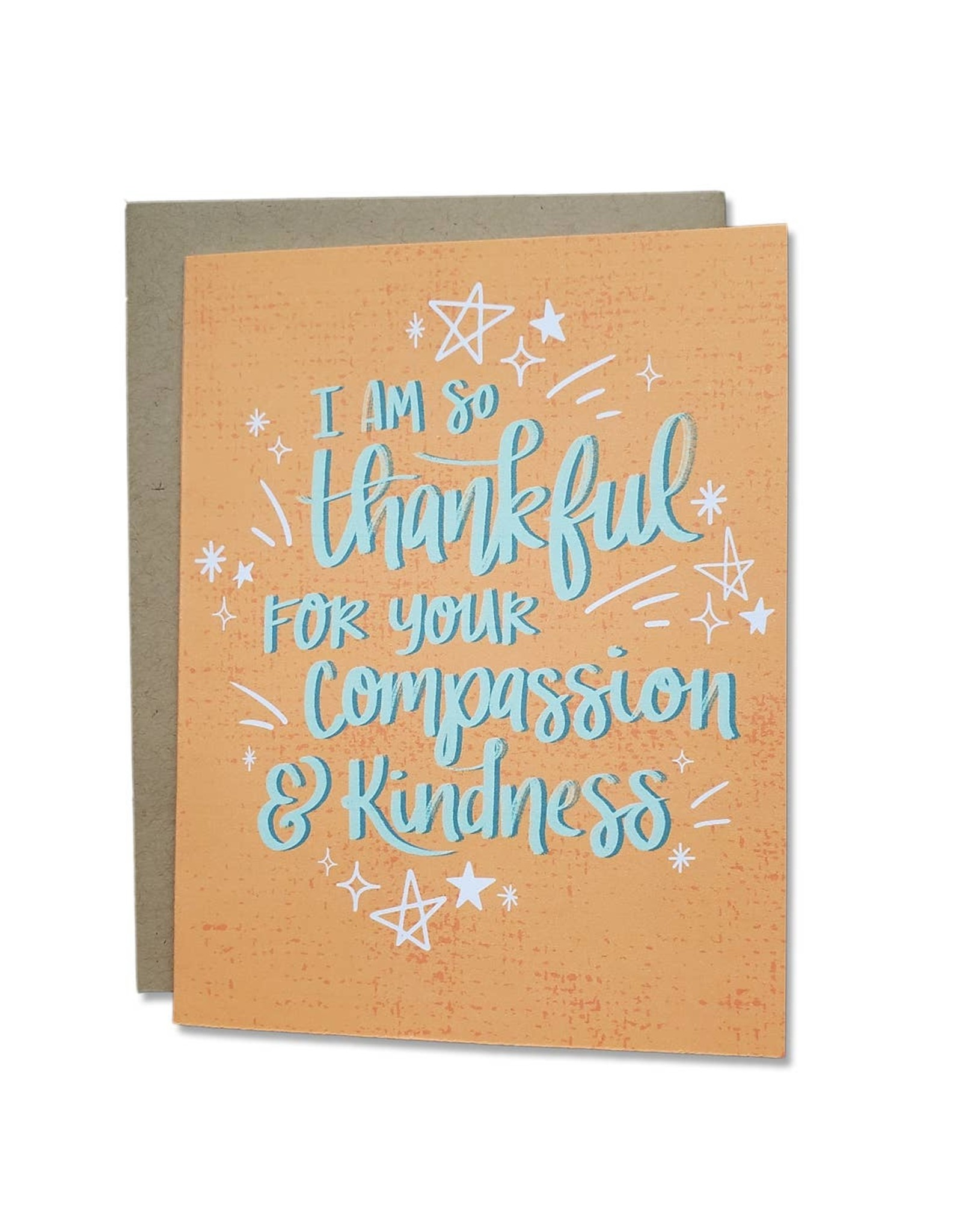 Dear Ollie Card - I'm So Thankful For Your Compassion And Kindness
