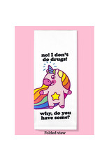 Dish Towel (Premium) - No! I Don't Do Drugs! Why, Do You Have Some?