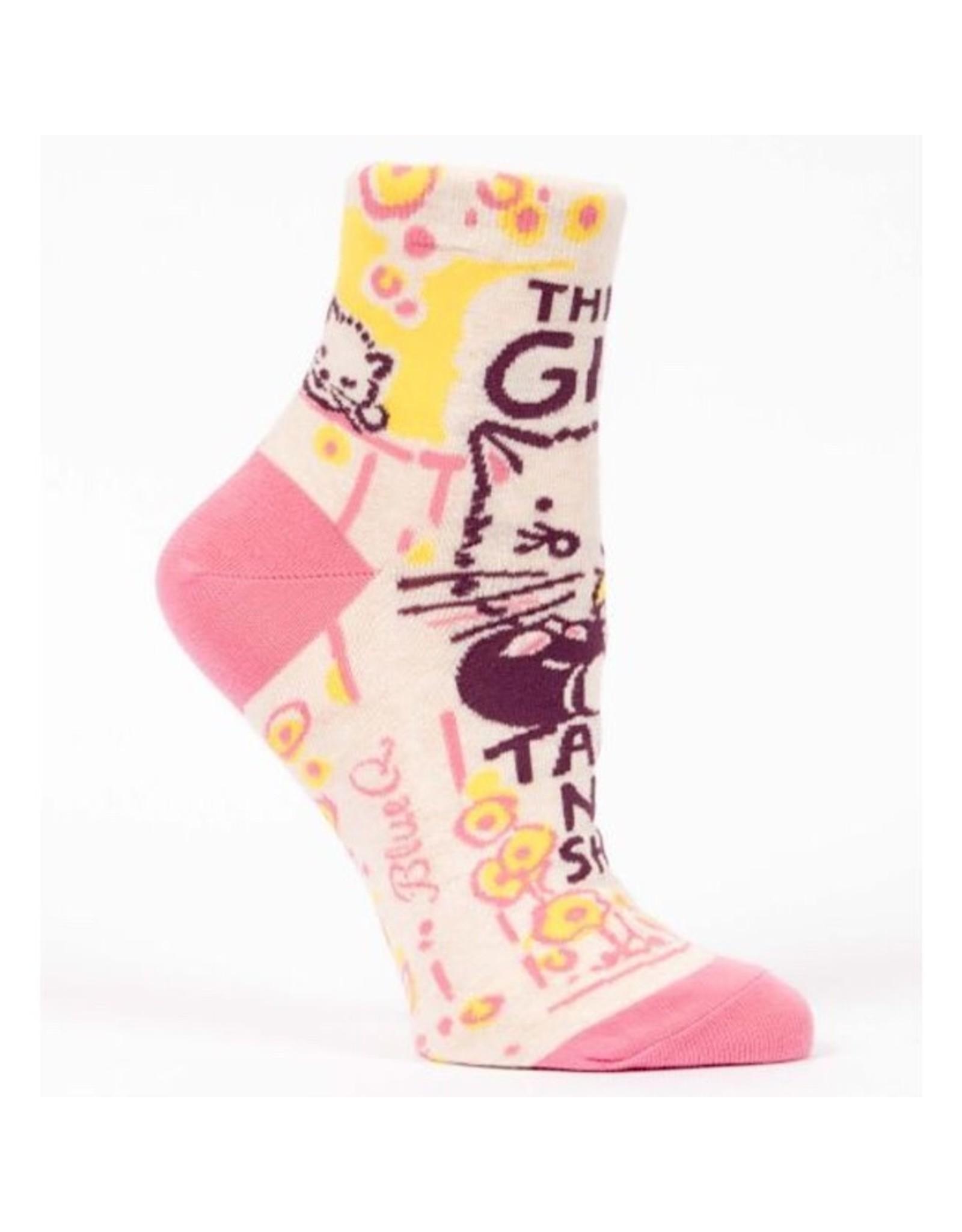 Socks (Womens) (Ankle) - Girl Takes No Shit