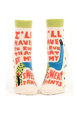Socks (Womens) (Ankle) - I'll Have To Run That By My Sweatpants