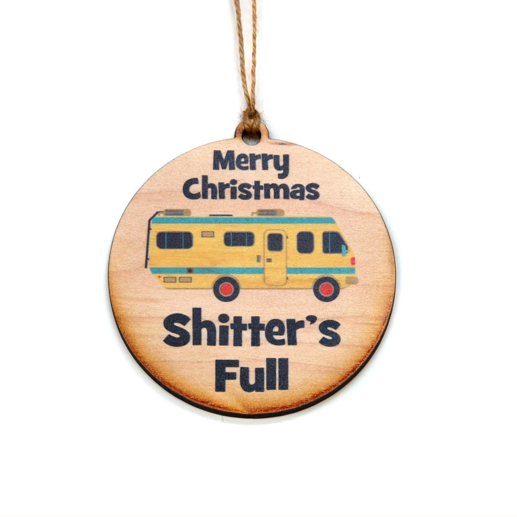 Ornament - Merry Christmas Shitter's Full
