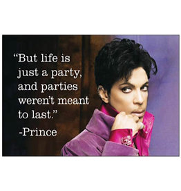 Magnet - But Life Is Just A Party, And Parties Weren't Meant To Last. (Prince)