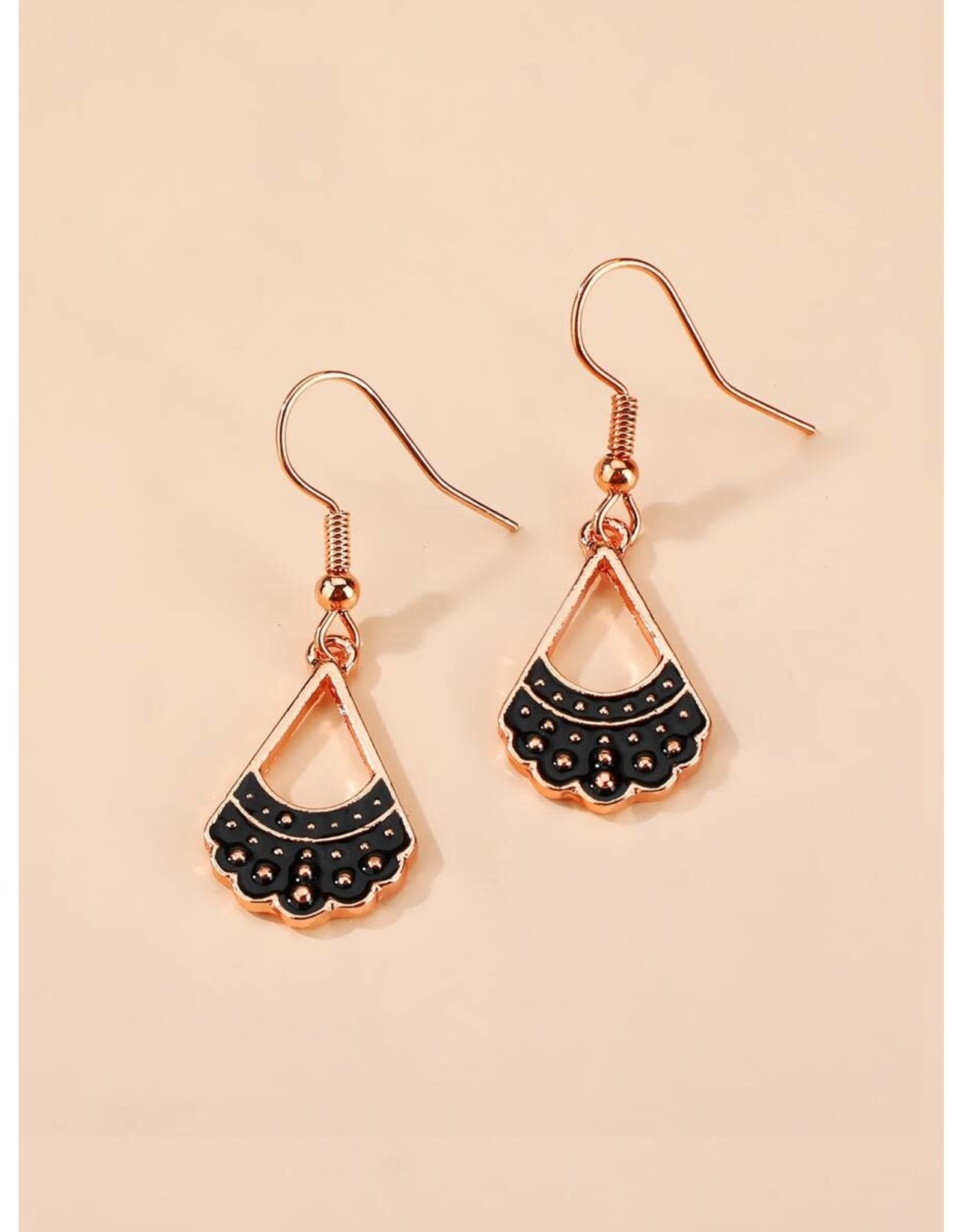 Earrings -RBG Collar - Rose Gold