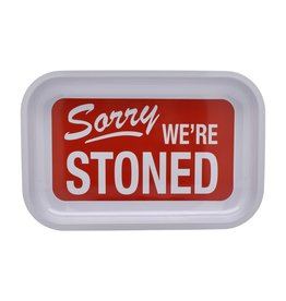 Rolling Tray - Sorry We're Stoned