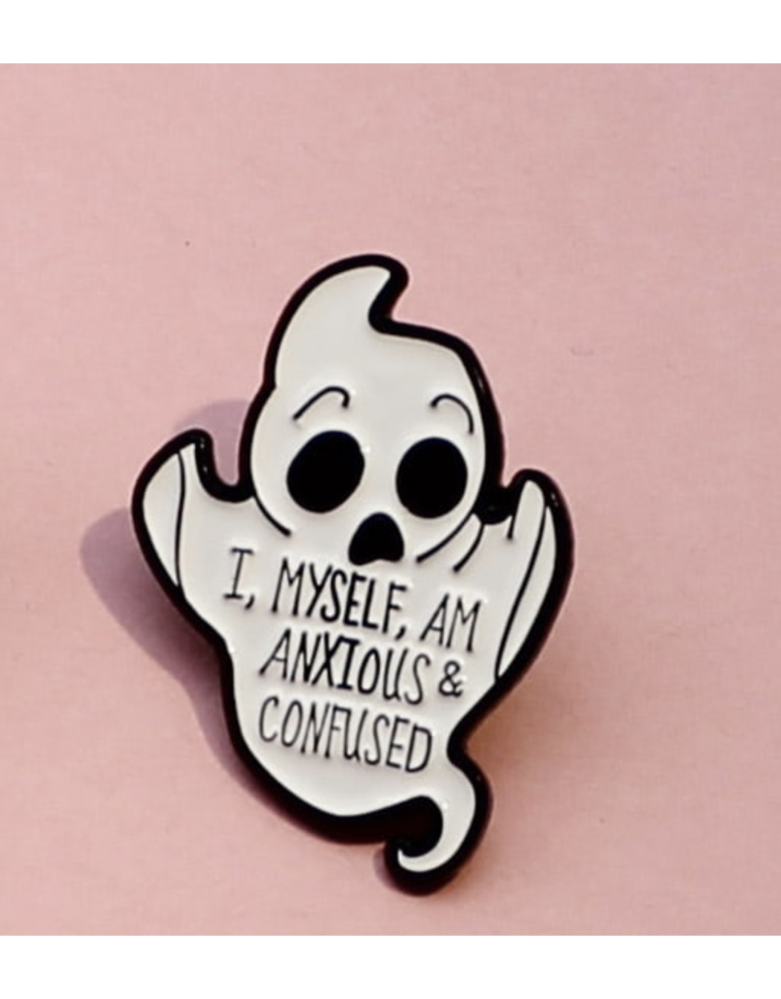 Shein Pin - I Myself Am Anxious & Confused (Ghost)