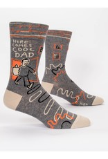 Socks (Mens) - Here Comes Cool Dad