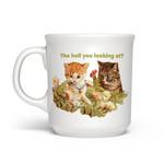 Mug - The Hell You Looking At? (Cat)